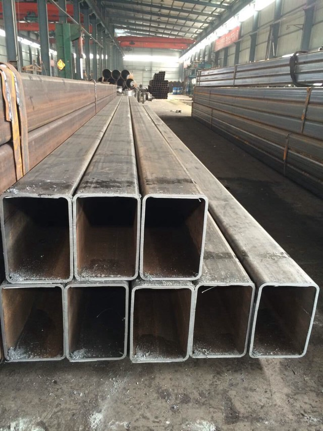 SS400 square weld steel pipes