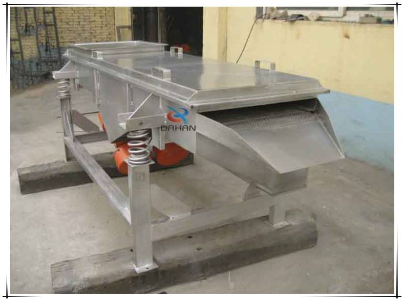 DZSF large output stainless steel linear pine nut vibrating screen