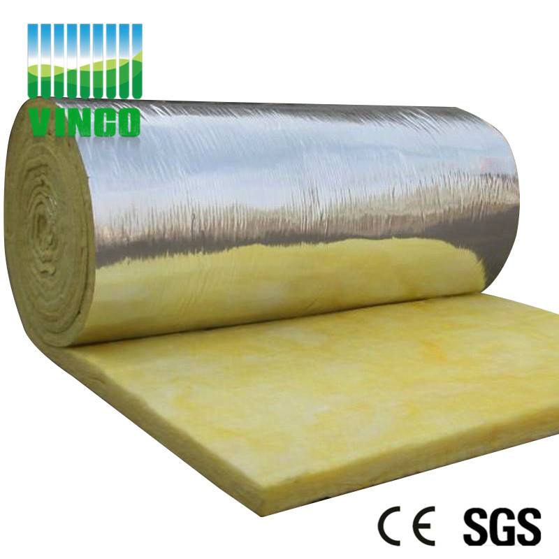 Thermal Insulation material fireproof glass wool panel