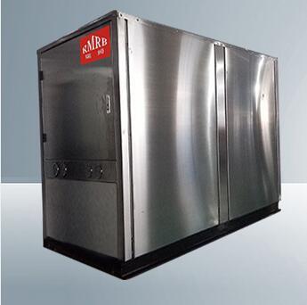 39.6kw silent work heat pump generator heating from brine source river source