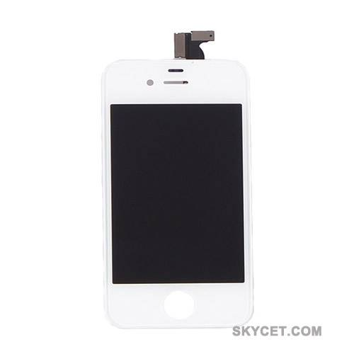 LCD Screens Digitizer Assembly For iPhone4-White-Original New