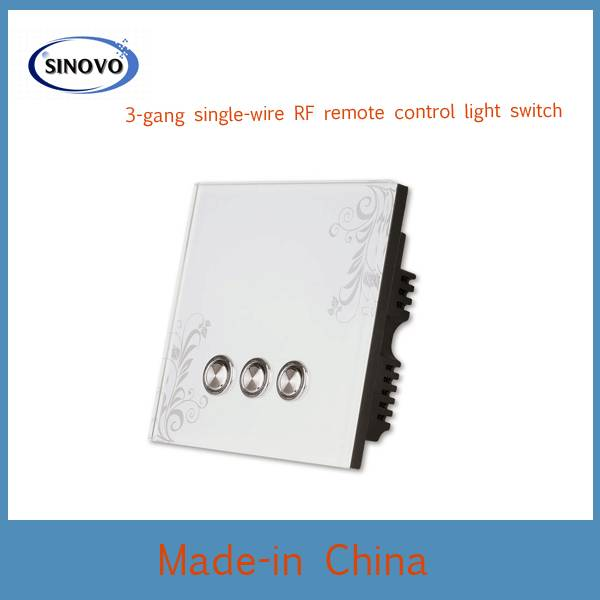 Competitive price with beautiful design remote control ligtht switch