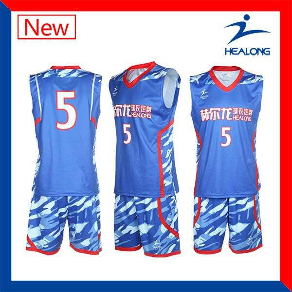 Customized Sublimatied Dry Fit Basketball Uniform
