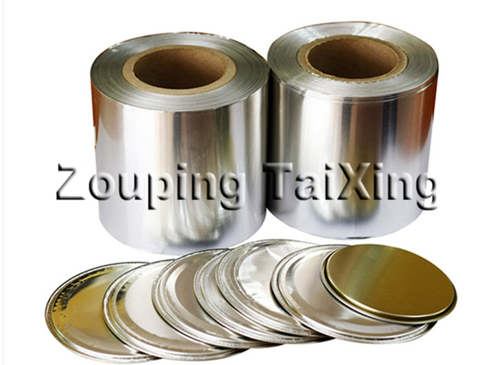8011 lacquer aluminium foil for peel off ends