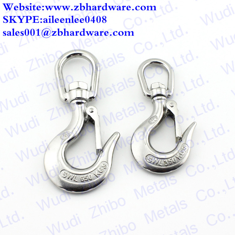China High Quality Precision Swivel Cargo Hook