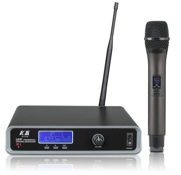 PLL & UHF Professional Wireless Microphone IU-1016