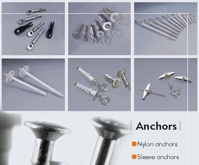 Nylon anchor & sleeve anchor