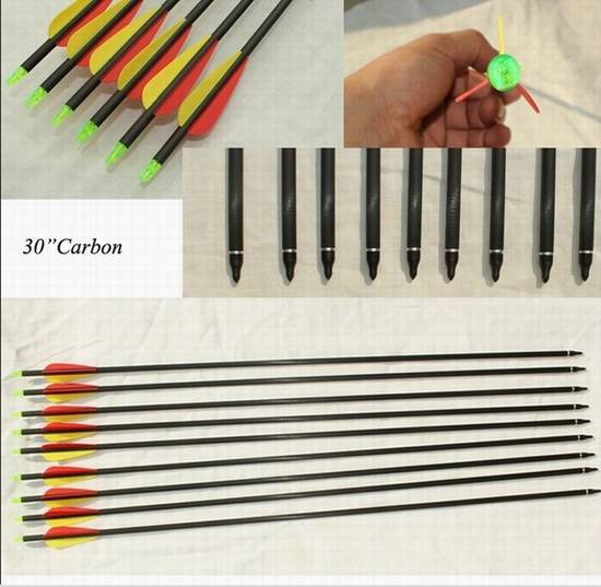 "Junxing archery 30""carbon arrow"