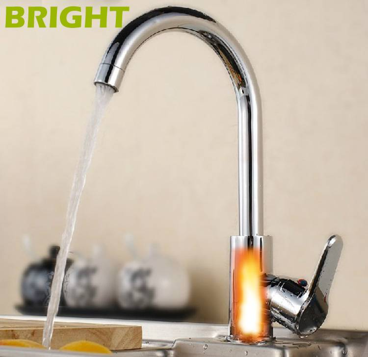 kitchen faucets-2s heat water