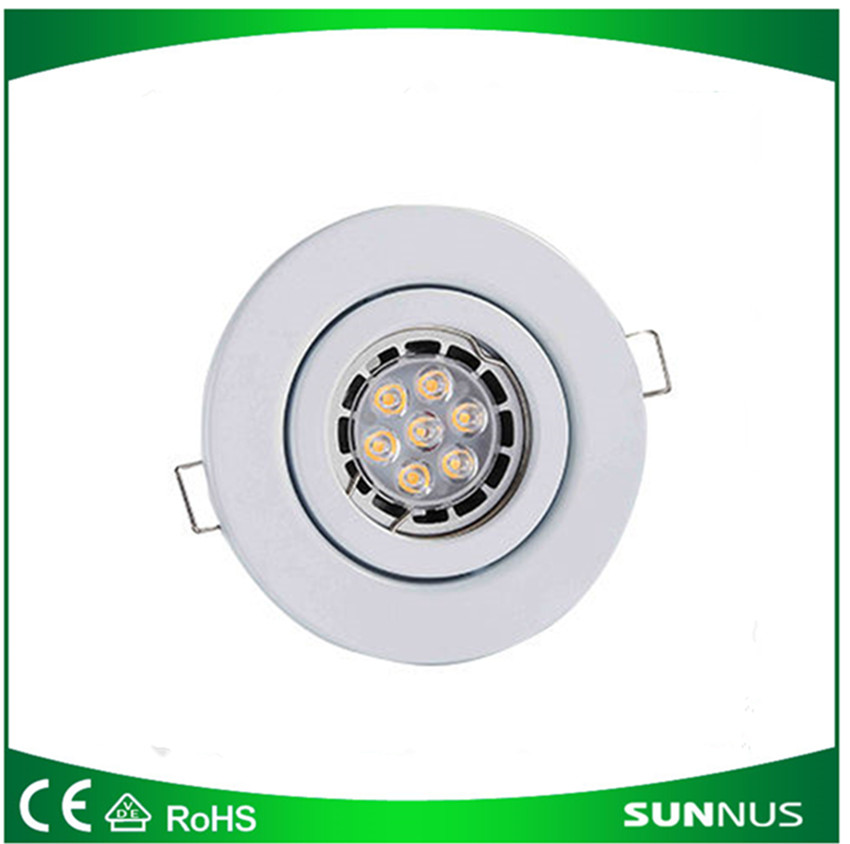 Led sopt light fitting ,plating with aluminum