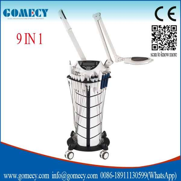 9 in 1 facial beauty salon equipment furniture