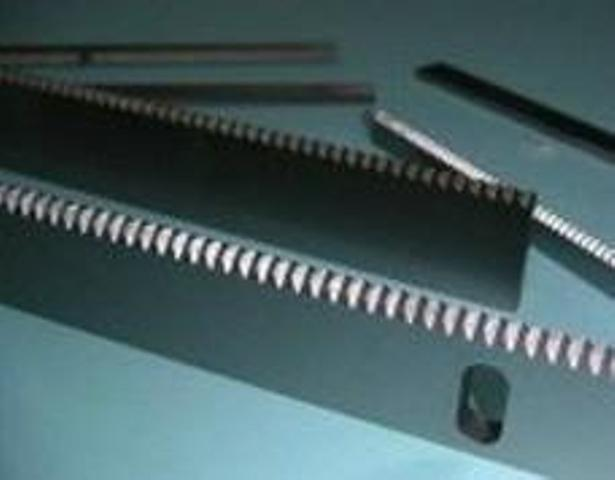 Toothform Knives for Bag Packaging Industry