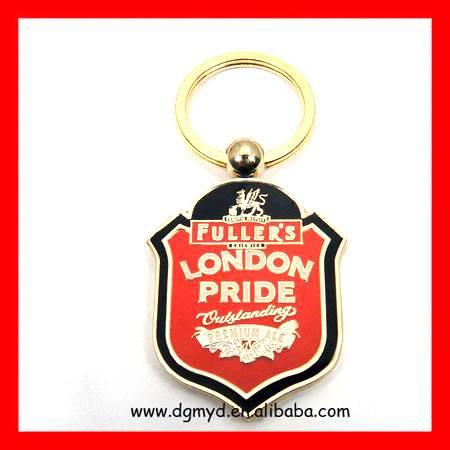 London Souvenir metal key chain