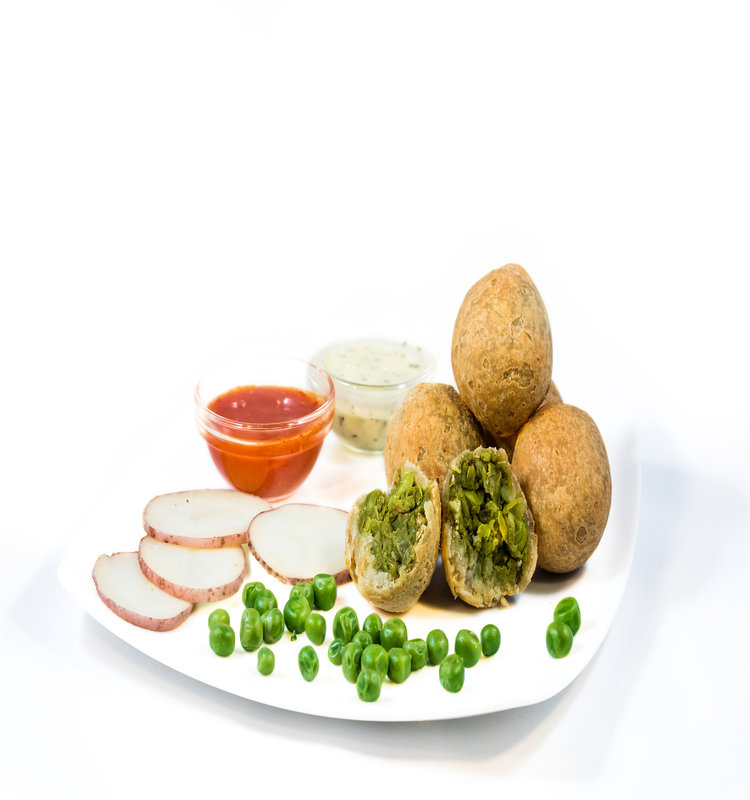 Peas Kachori Cocktail