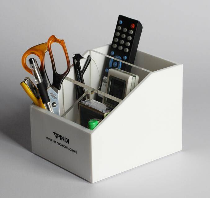 Customized acrylic pen holder / sundries box