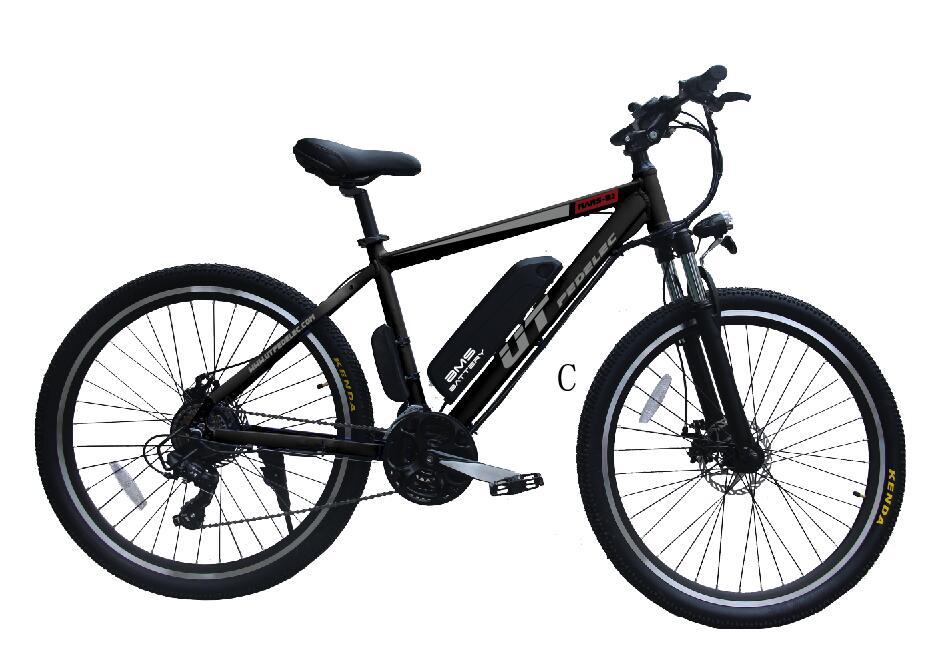 27.5'' mountain ebike with Shimano