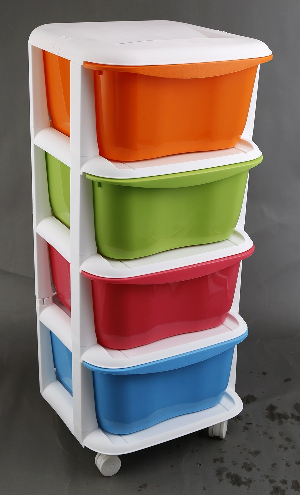 four floors Combination store content ark/DIY storage case/box
