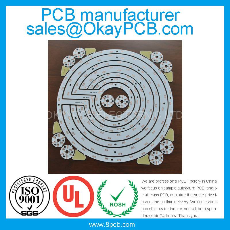Aluminum PCB supplier with good quality and good price