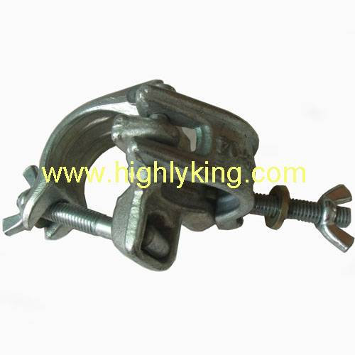 Dimensions 50.8mm drop forged carbon steel dual purpose right angle clamps for scaffolding(HC-202)