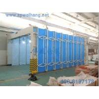 Guyana Steel Frames Auto Spray Booths For Cars Retractable ISO9001