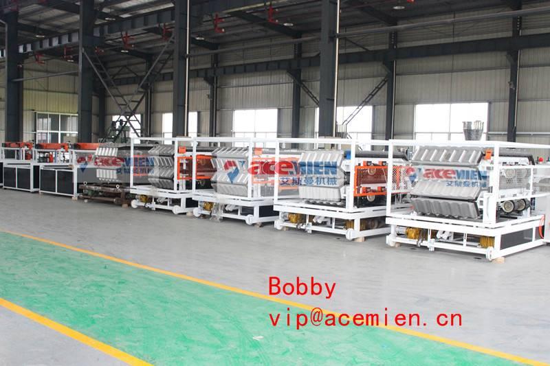 650kg/h PVC roof tile making machine