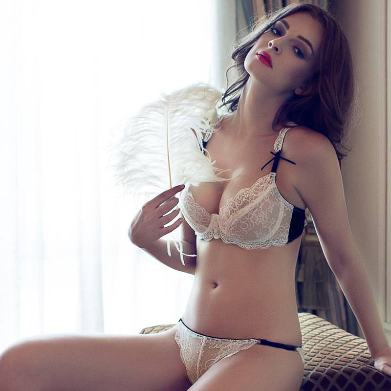 Photos Sex Girls Underwear Transparent Sexy Bra And Panty New Design