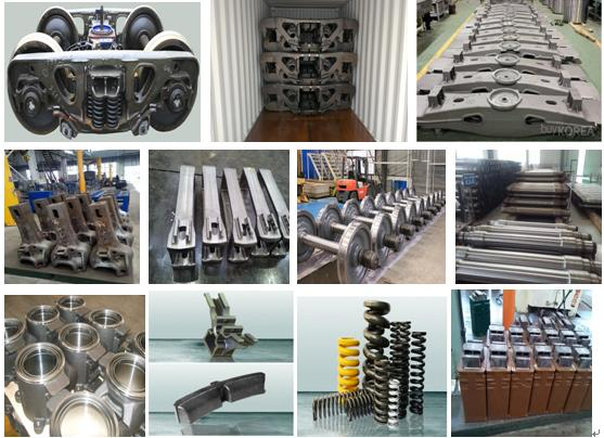 CRRC forged and casting railway components