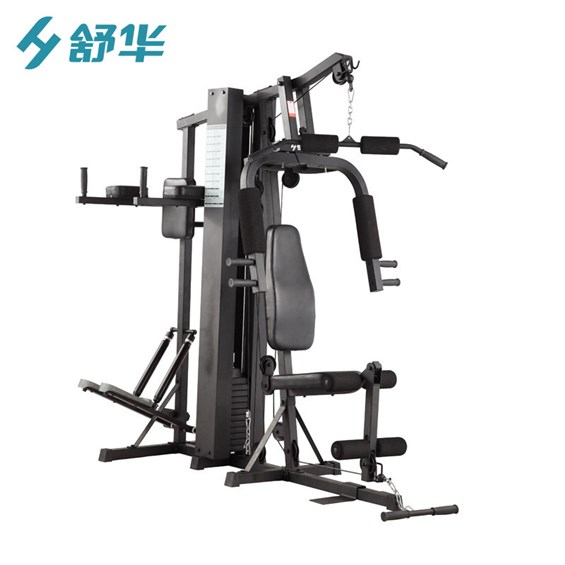 Integrated Fitness Machine, Three Station Fitness Machine, Multi-Functional Gym Equipment