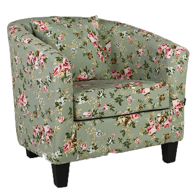 Upholstery Fabric Tub Chair Lounge Living Room Office Reception