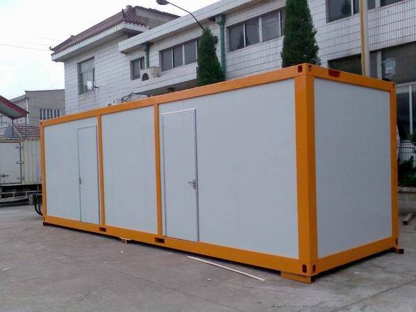 Flat style prefab house, deluxe/luxurious prefabricated house, modules, mobile housing