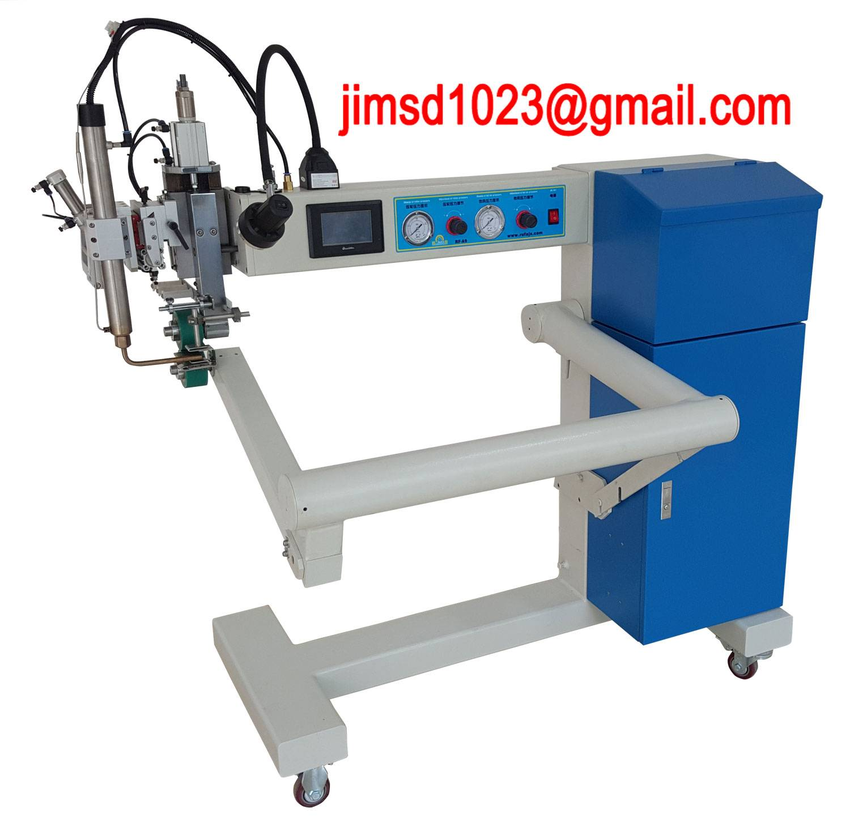 RF-A12 automatic hot air welding machine pvc