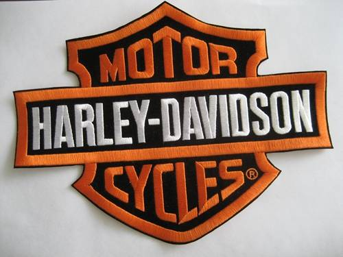 Harley Davidson Embroidery Patch