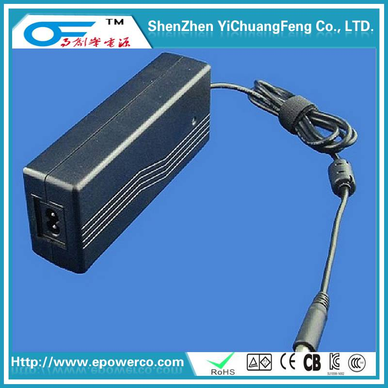 Display power supply 12V10A/24V3A/24V3.5A/12V6A CE UL SAA GS KC FCC 6 level energy efficiency Short