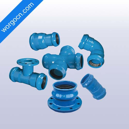 DI Pipe Fittings for PVC Pipes