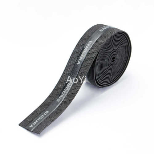 2cm Polyester Nylon Yarn Spandex silicone elastic tape band
