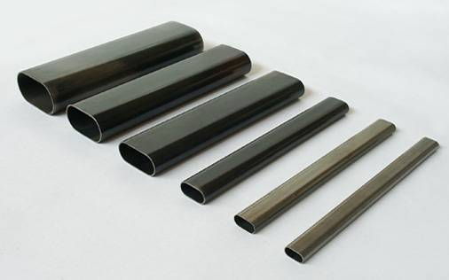 oval / elliptical steel pipes