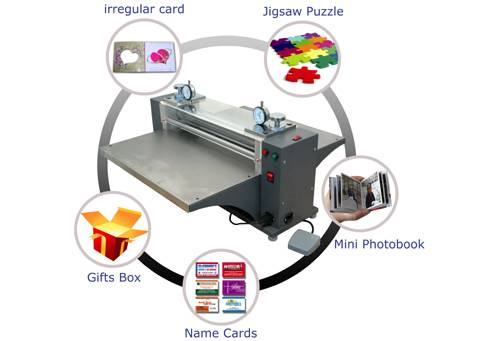 CDP500 Desktop Cylinder Die Cutting Machine