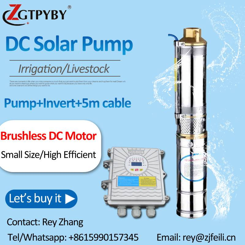 dc submersible solar pump irrigation system solar borehole pump system in Philippines