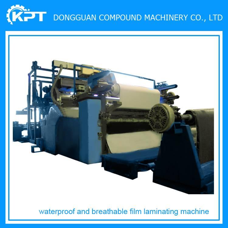 tpu film fabric roll laminating machine