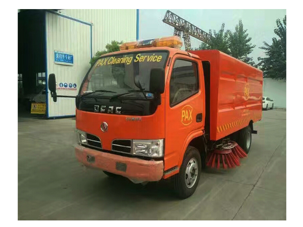 Dongfeng Rhd Sweeper Width 3.8m Road Sweeper Truck for Sales