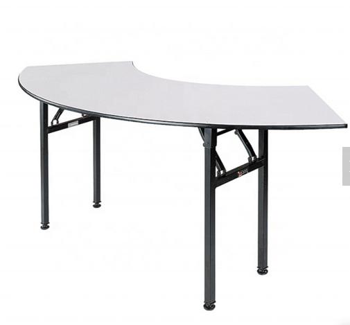 Hotel Restaurant Folding Crescent Table