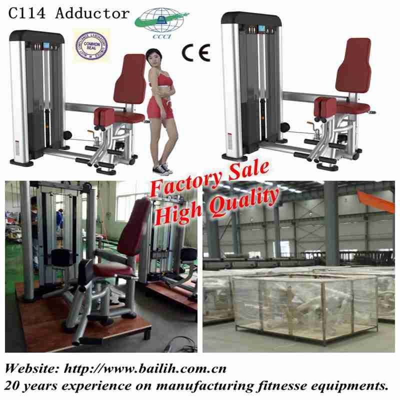 Bailih C114 Gym Fitness Equipments Adductor Machine Inner Thigh Exercise
