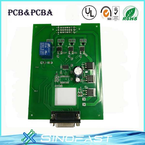 ROHS ISO 9001 single side PCBA Assembly in 7000m2 Shenzhen factory