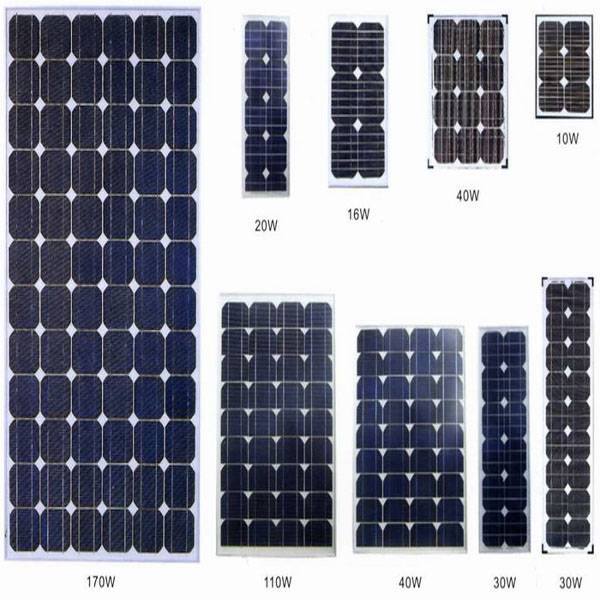 Solar Panels for Home Solar Systems, Solar Street Light, Solar Pumping System