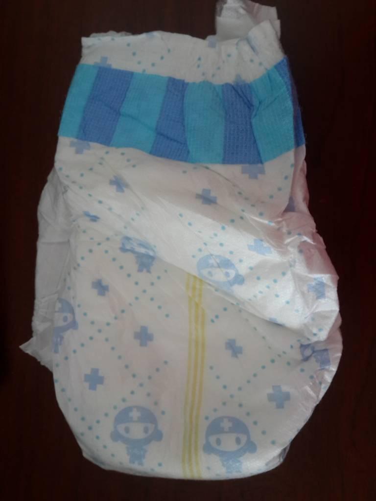 Cheap baby diaper in bale