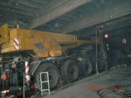 LIEBHERR  LTM1050 50T used truck mounted crane for sale