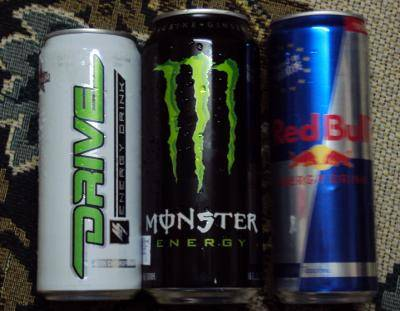 Carbonated DRIVE M7 Energy Drink