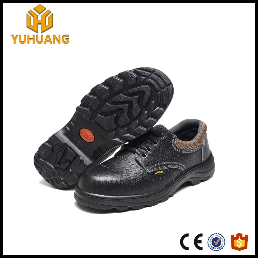 Nubuck Leather black hammer safety shoes
