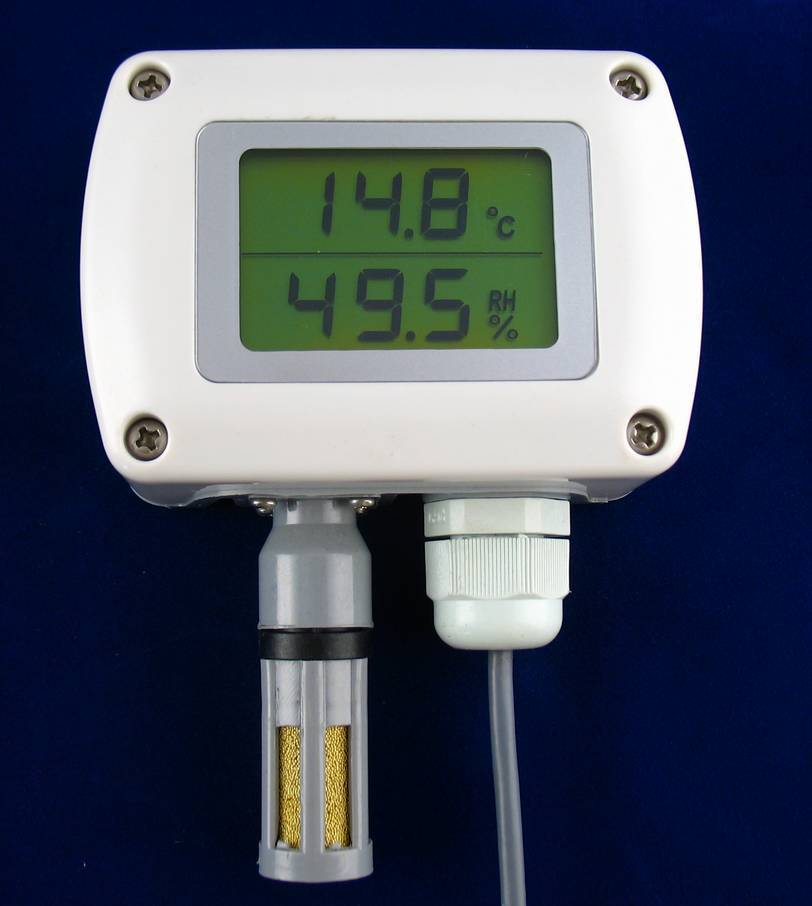 Humidity & Temperature Transmitter MQ3020 for wall mounting