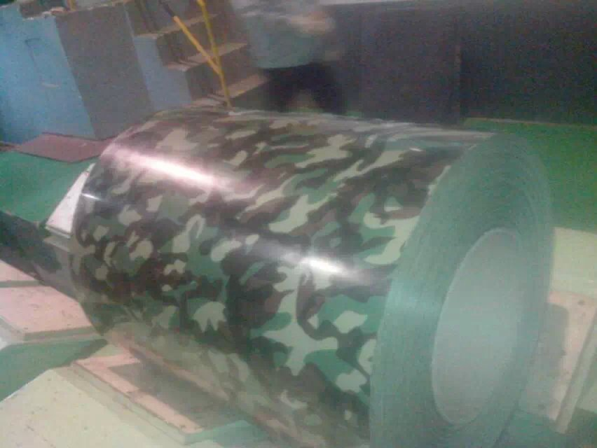 AZ100 camouflage color PPGI/prepainted galvanized steel coil